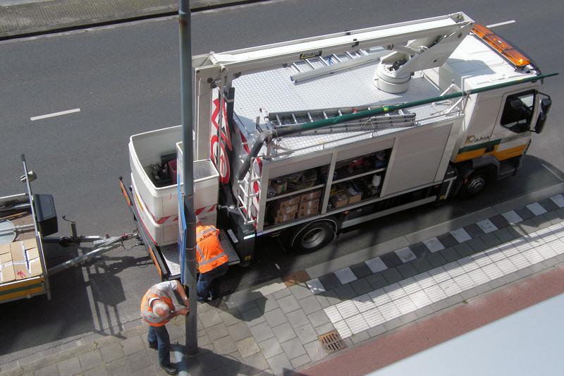 De weblog van Helmond » Er is nu LED-verlichting op de Traverse
