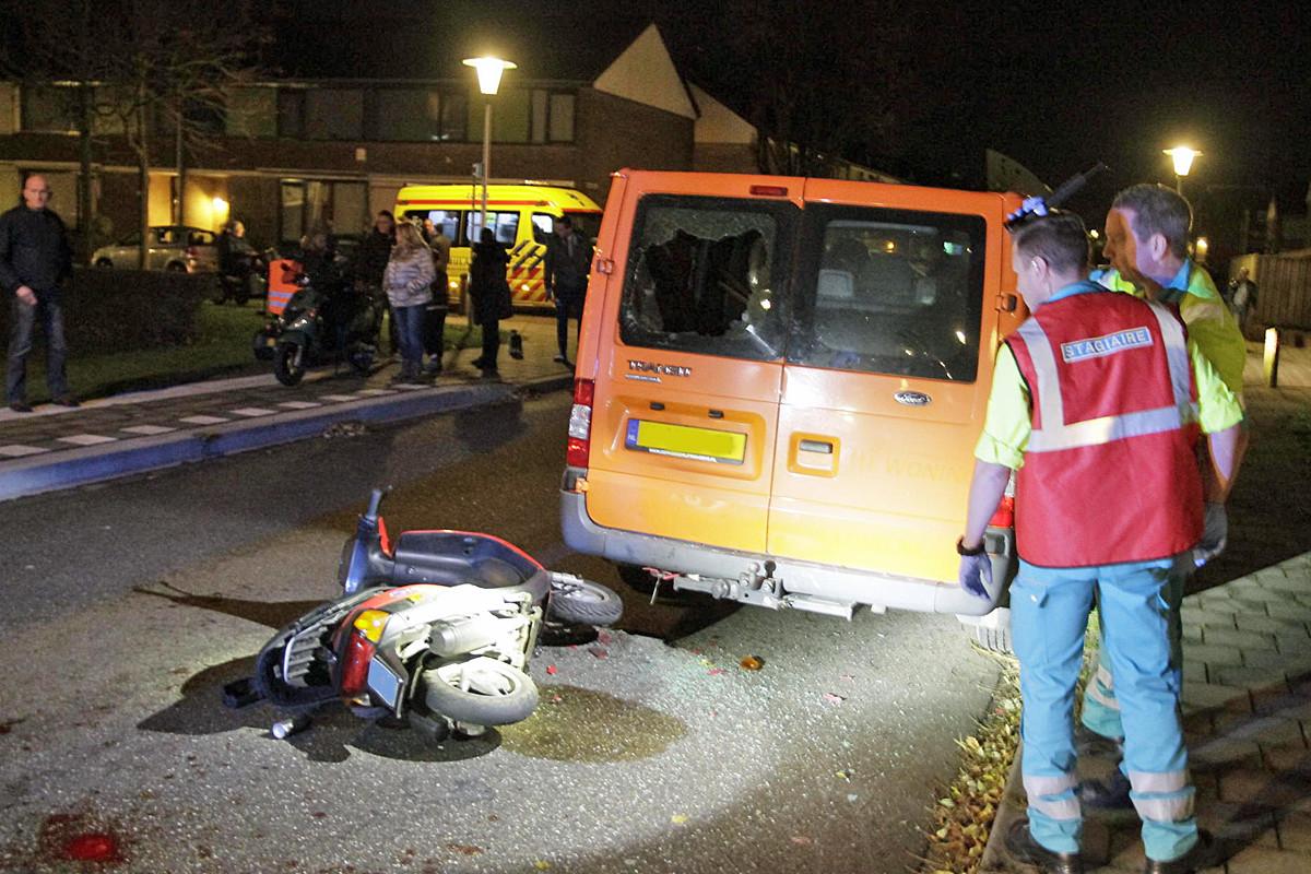 De weblog van Helmond » Scooterrijder lichtgewond na ongeval